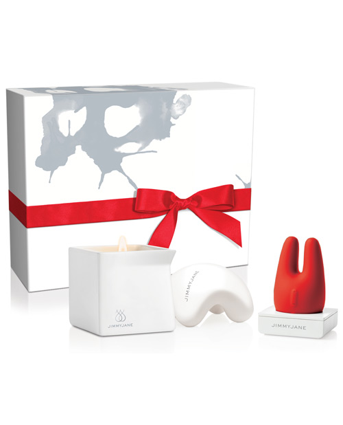 Jimmyjane Set - After Dark Massage Set with Candle and Toy Set 852991004389