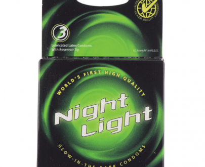Ella Paradis Night Light Condoms (3 Pack) in Glow-In-The-Dark 726893120037